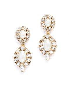Rent Fine Day Earrings by kate spade new york accessories for $20 only at Rent the Runway.