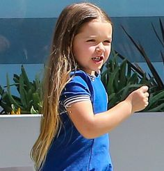 Harper Beckham Fashion Blog