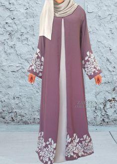 zareen collection leyah embroidered abaya, luxury designer abayas, buy abayas on. - # Source by dresses muslim Islamic Fashion, Muslim Fashion, Modest Fashion, Modest Outfits, Fashion Dresses, Modest Wear, Modest Clothing, Abaya Fashion, Uk Fashion