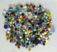200 Plus Vintage Marbles.