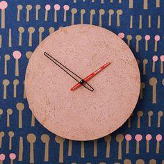 Betonové hodiny nástěnné - Clockies 1707