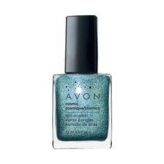 June's Best New Nail Polish Shades: Avon Cosmic Nail Enamel in Celestial ($6) is a scintillating shade of blue that has us dreaming of sand between our toes and cool ocean waves.