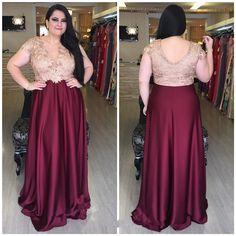 Resultado de imagem para plus size prom dresses with sleeves