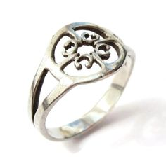 SOLD. Vintage Ola Gorie St Magnus sterling silver ring, openwork ring, Scottish silver from the Orkney Islands. https://www.etsy.com/listing/230228762/vintage-ola-gorie-st-magnus-sterling