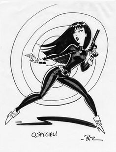Bruce Timm Spy Girl