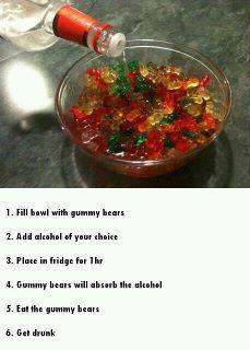 great idea! need to get gummy bears!
