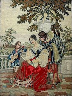 Gallery.ru / каминный экран, 1850 г. - АЛЬБОМ 1 - samara84