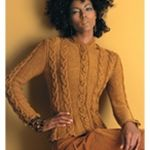 CABLED JACKET  Vogue Knitting Fall 2005 #13 Design by Jennie Atkinson