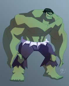 Hulk Animated by EricGuzman.deviantart.com