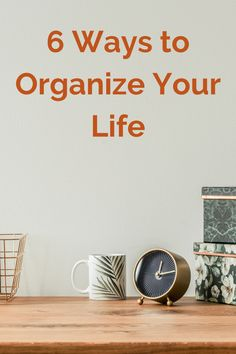 Scratched Wood, Self Organization, Declutter Your Life, Enjoy Your Life, Organizing Your Home, Staying Organized, Best Self, Self Improvement, Inspire Me