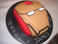 Ironman cake by cacamilis, via Flickr Iron Man Party, Ironman Cake, Birthday Cakes, Birthdays, Parties, Favorite Recipes, Party Ideas, Fiestas, Anniversary Cakes
