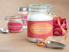 18 Bath and Beauty Home Made Gifts  {recipe how to}