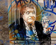 street art. C215 in Milan