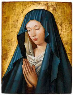 Jean Courdichon | The Virgin in Prayer, ca. 1480