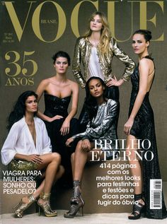 40 anos de Vogue Brasil: relembre as capas mais surpreendentes da revista - Vogue | News