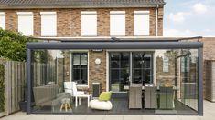 Riva (Uterom)   Solid glasstak   Gratis befaring   Scandic Markiser Glass House Garden, Home And Garden, Lean To Conservatory, Conservatory Ideas, Bay Window, Pergola, Restaurant, Windows, Gallery