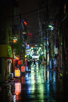 Rainy Tokyo Streets at night in AsakusaYou can find Paysage urbain and more on our website.Rainy Tokyo Streets at night in Asakusa Urban Photography, Night Photography, Street Photography, Landscape Photography, Photography Ideas, Grunge Photography, Minimalist Photography, Color Photography, Newborn Photography