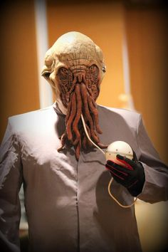 Ood Doctor Who Cosplay #drwho #doctorwho #cosplay