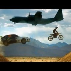 Expert Driver Ken Block is Back With Crazy Car Stunts in LosAngeles -