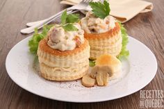 Vol au vent recept Vol Au Vent Recept, Dinner Party Recipes, Holiday Recipes, Chicken Vol Au Vent Recipe, Lemon Chicken Stir Fry, Pepperidge Farm Puff Pastry, Pastry Shells, British Baking, What To Cook