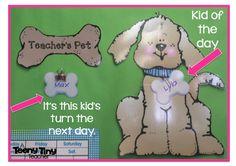 Teacher's Pet - Classroom Management Idea