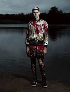 Willy Vanderperre shot Simone Nobili for the Fall issue of Vogue Hommes International.