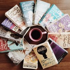 ifreakinlovebooks:  lookingforabura:  Happy Sunday! ☀️ Here's some #AgathaChristie love!  She is my favorite crime-fiction writer. She is THE queen! If you haven't read any of her books, then please pick it up! Read it! (If you're into this genre)  No, I'm not trying to scare you! Haha  • •• Have a great day and week ahead, pals!   So pretty, Abeer!