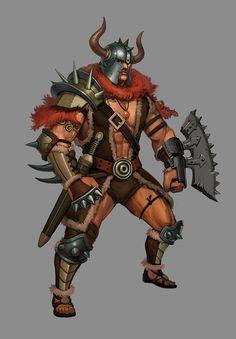 viking barbarian in 2012
