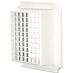 Builders Edge 140157079123 Animal Guard for Exhaust Vent 123, White *** Click image for more details.