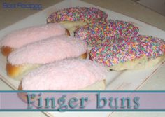 Fingers buns are a classic treat with their sweet icing and soft roll #fingerbun #retro #recipe #sweet #classic