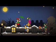 4 kleine zwarte pieten - Sinterklaasliedjes met tekst - YouTube