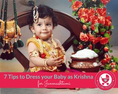 7 Tips To Dress Baby As Krishna Indian Baby Names Cute Baby P Os Baby