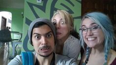 Face Off  Anthony R., Stephanie & Kelly (Sounding off selfies)