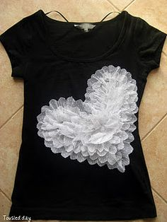 Ruffled Heart Shirt