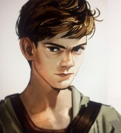 Thomas Brodie Sangster as Newt from The Maze Runner: fan art! Maze Runner Thomas, Newt Maze Runner, Maze Runner Movie, Thomas Brodie Sangster, Maze Runner Trilogy, Maze Runner Series, James Dashner, The Scorch Trials, Maze Runner Cura Mortal