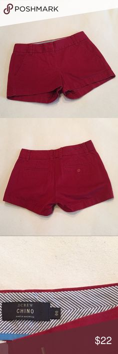 J. CREW Chino Shorts Great pair of shorts! In excellent condition! J. Crew Shorts