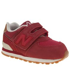 0b4dd2a0770 New Balance Red 574 New England Unisex Toddler Your little ball of energy  will be running