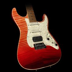 Tom Anderson Drop Top Classic Electric Guitar Red Surf