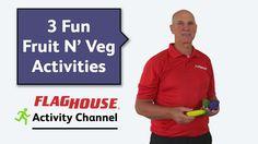 3 Fun Fruit N' Veg Phys Ed Activities (Ep. 37 - Fruit N' Veg)