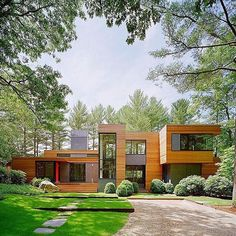 """Fine Architecture on Instagram: """"Kettle Hole House, East Hampton, New York by Robert Young Architecture 