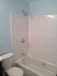 Create A Waterproof Bathtub Wall For Less Than 50 Bathtub Walls Mobile Home Bathtubs Shower Remodel