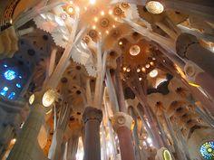 When visiting Barcelona you can't go wrong by first stopping in to see the Sagrada Familia or Church of the Sacred Family.