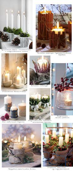 Блог о декоре - Оформление интерьера к Новому году