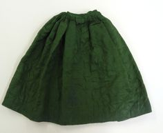 Silk quilted patticoat front