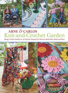 Book review: Arne and Carlos Knit and Crochet Garden