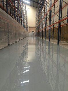 Heavy duty coating Polyamine   Polishing Contractor by Teknoklinz Indonesia Polished Concrete Expert