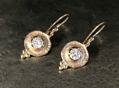 Reusing Your Old Gold And Gemstones Archives - Jeanette Walker Jewellery Ear Jewelry, Stone Jewelry, Jewlery, Pink Sapphire Ring, Diamond Earing, Custom Jewelry Design, Vintage Diamond, Vintage Jewelry, Fashion Jewelry
