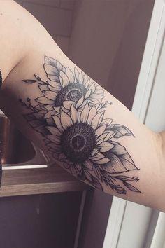 Sunflower tattoo forearm tattoos for women, arm sleeve tattoos for women, Sunflower Tattoo Sleeve, Sunflower Tattoo Shoulder, Sunflower Tattoo Small, Sunflower Tattoos, Sunflower Tattoo Design, Flower Sleeve, White Sunflower, Sunflower Flower, Trendy Tattoos