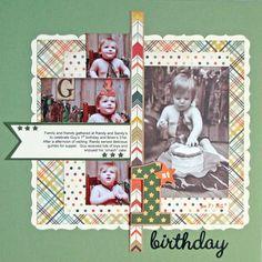 1st Birthday - Scrapbook.com