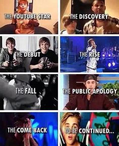 The story of Justin Bieber